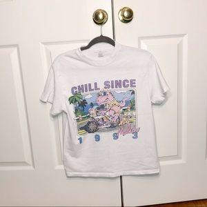 Brandy Melville women's graphic shirt